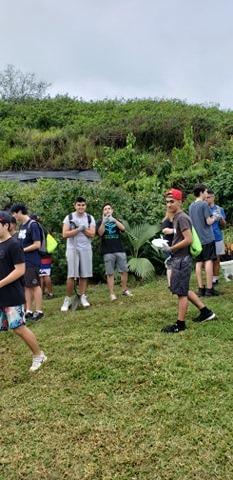 The Senior Class at Kawai Nui Marsh 17