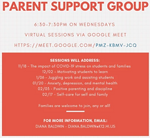 KHS parent support group flyer
