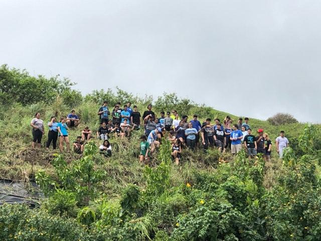 The Senior Class at Kawai Nui Marsh 13