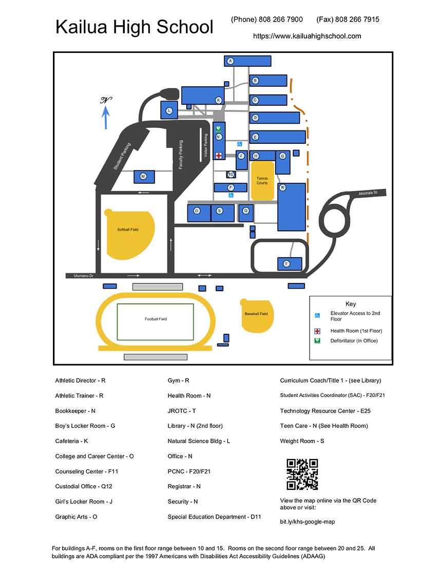 Kailua HS Map.png