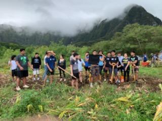 Sophomore Class in Waimanalo 3