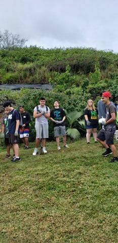 The Senior Class at Kawai Nui Marsh 9