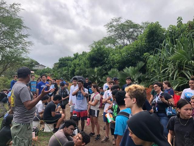 The Senior Class at Kawai Nui Marsh 8