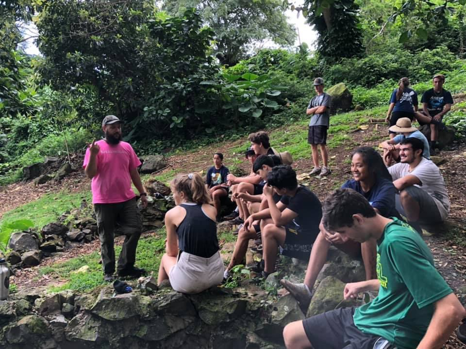 Junior Class at Ulupo Heiau 19