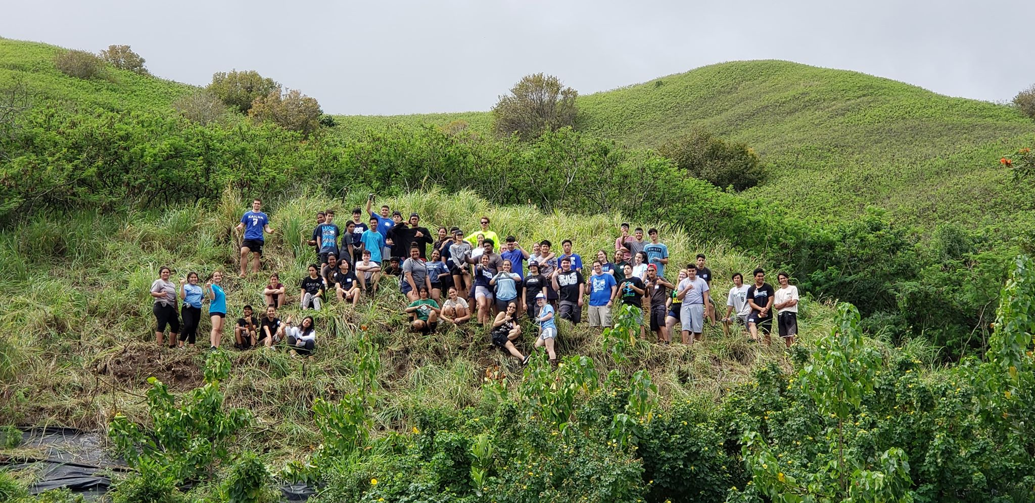 The Senior Class at Kawai Nui Marsh 1
