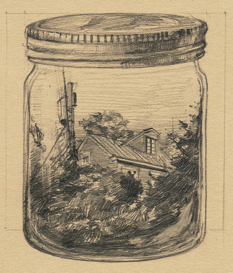 Church Hill House in a Jar