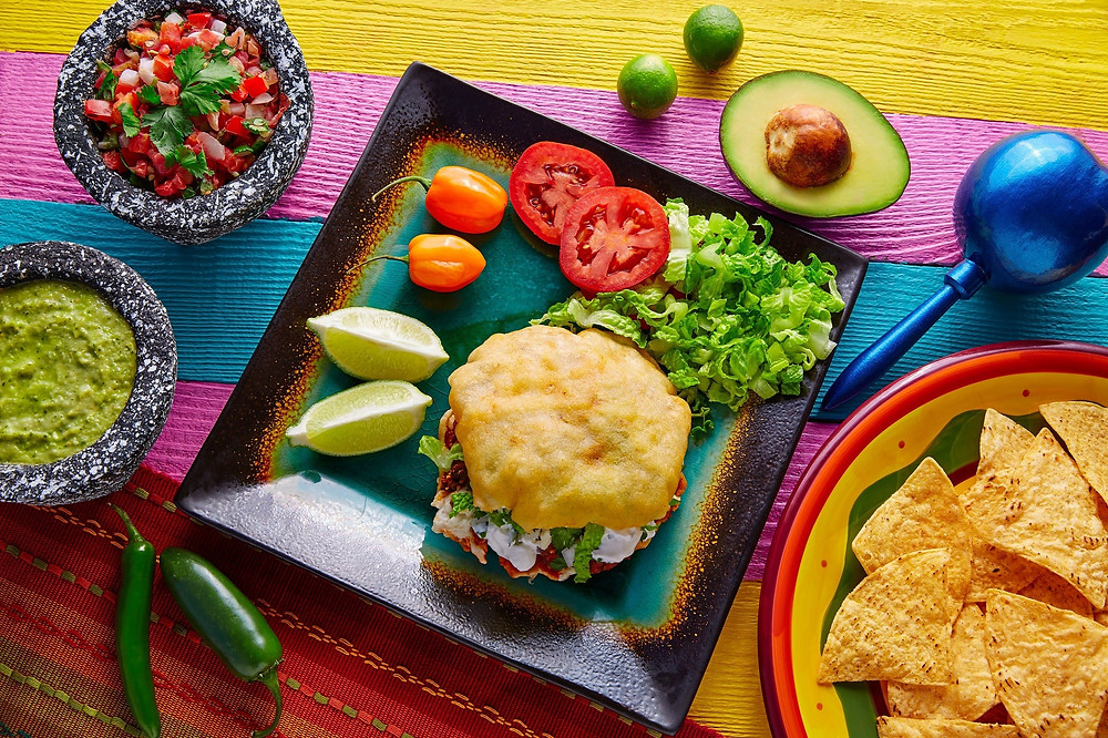 """Gordita"" means chubby in Spanish, so you can imagine how delicious this is."