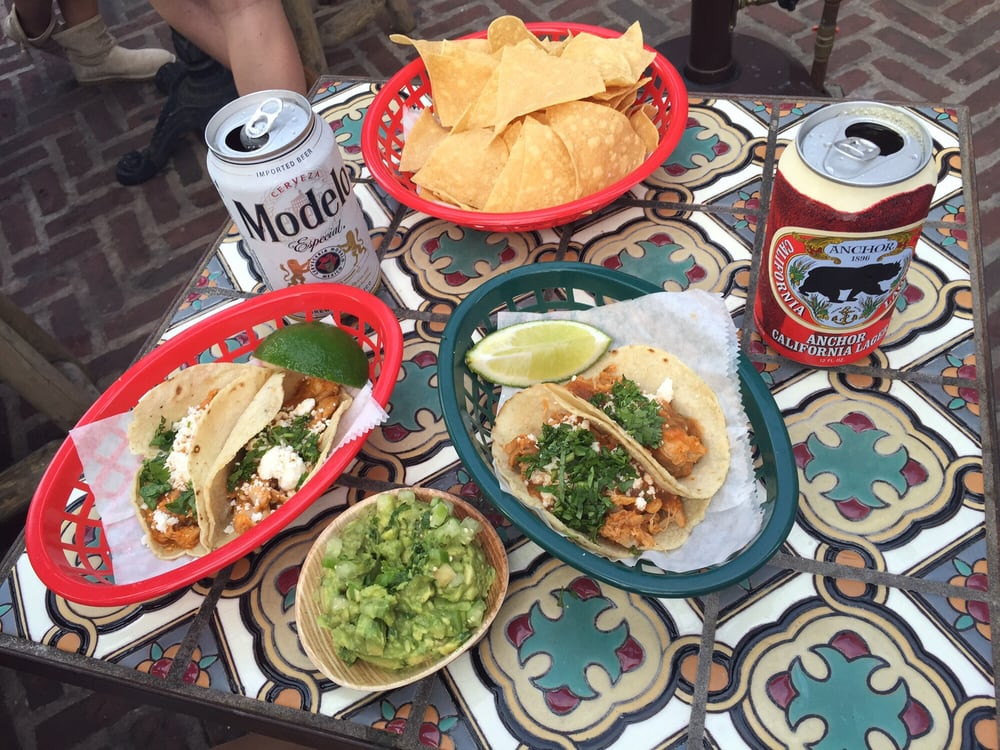 Tacos, guac and cold beers at Pod 39