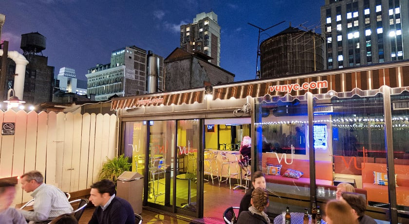 Rooftop bar at La Quinta Inn & Suites Manhattan