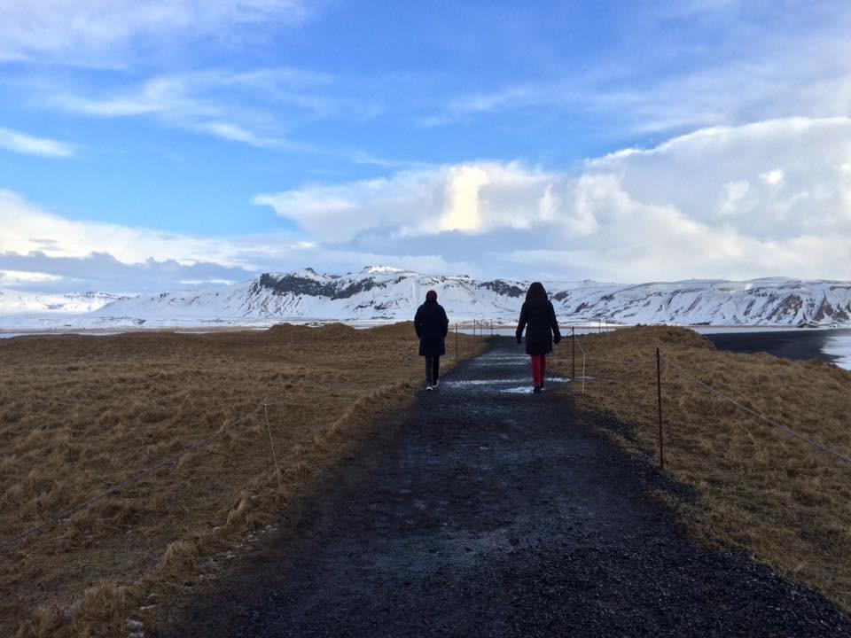 Caminhada por Dyrhólaey