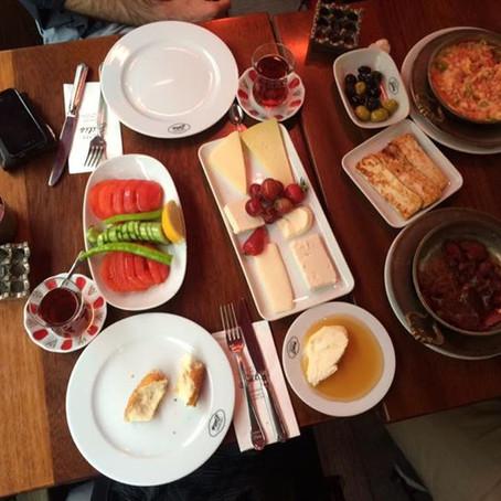 ISTAMBUL: Os melhores café-da-manhã