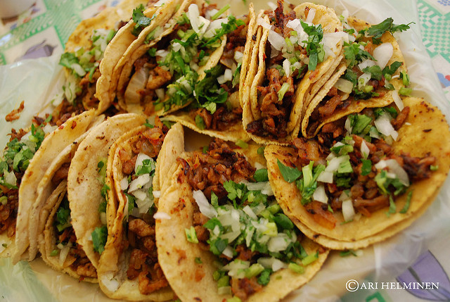 Tacos al pastor - Ari Helminen via Flickr