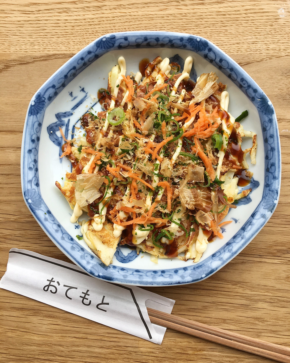Chicken Okonomiyaki - 50 DKK