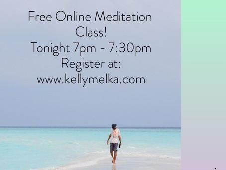 Free Online Weekly Meditation