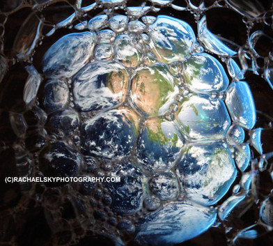 Earth in a Protective Bubble