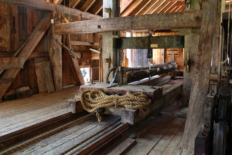 Water Powered Sawmill (1)