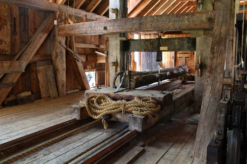 Water Powered Sawmill (1)