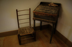 The Old Chair and Desk