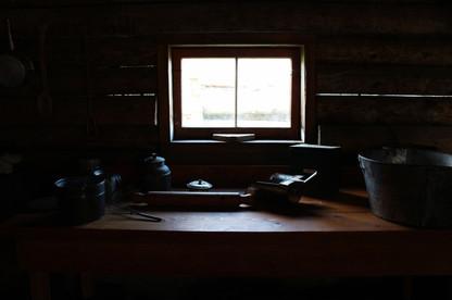 Pots in Window Light