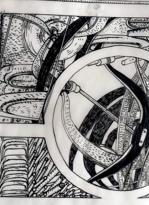 Speculative : machine drawings 1993-6