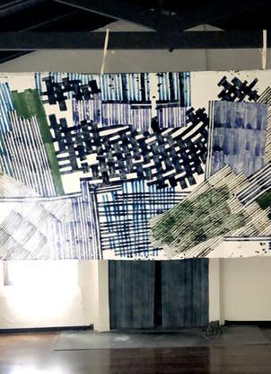 Decision Fields : paintings + textiles