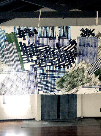 Decision Fields : paintings + textiles