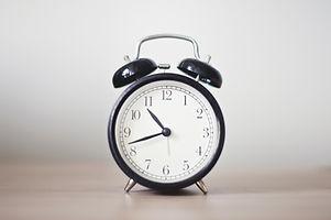 Gammeldags klokke