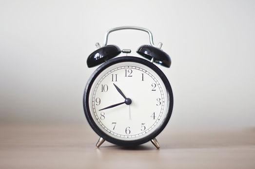 Altmodische Uhr