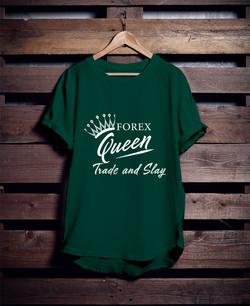 Hunter Green Forex Tee