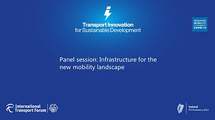 Panel session Infrastructure for the new mobility landscape.jpg