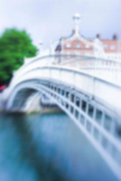 Dublin Hapenny Bridge Image