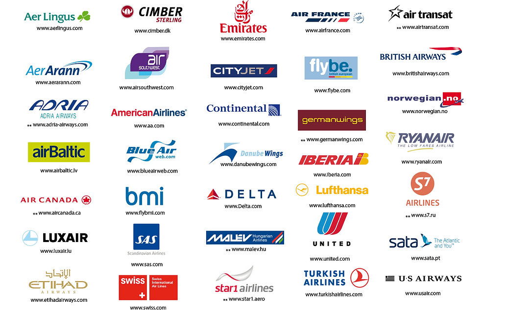 Airlines that fly into Dublin