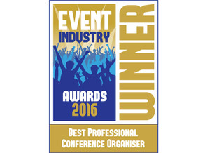 Abbey awarded Best PCO at Event Industry Awards