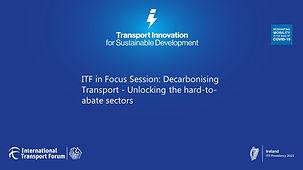 ITF in Focus Session - Decarbonising Transport.jpg