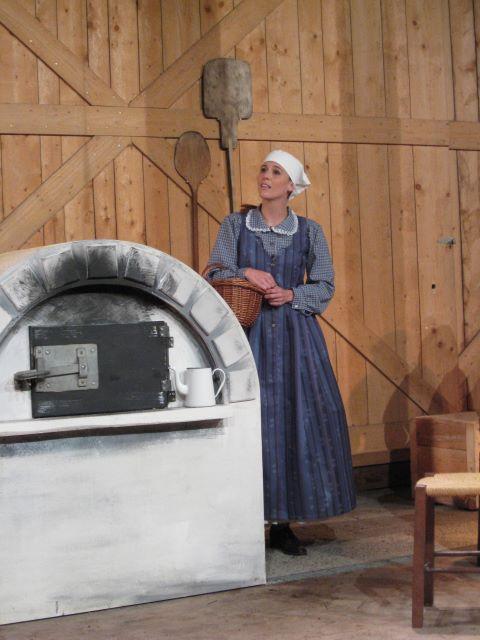 Die Frau des Bäckers