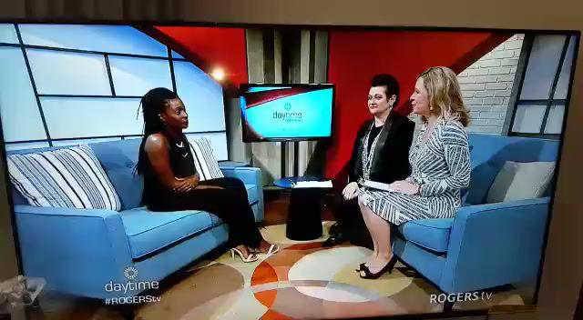 Rogers TV interview.
