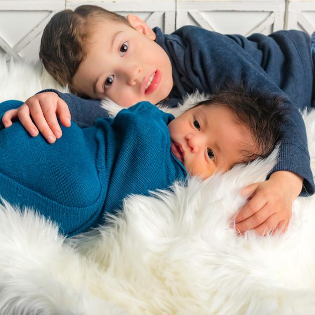 Brothers Newborn Session