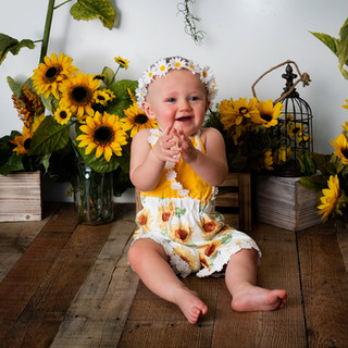sun flower mini session