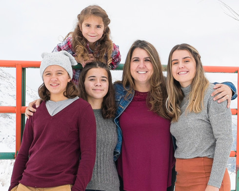 family photos in Utah