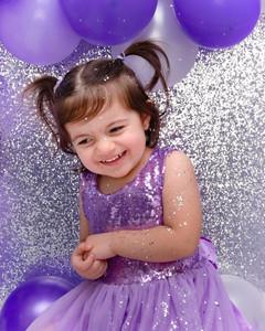 Glitter Glam 2nd birthday