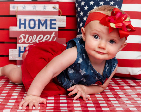 4th of july Mini Session