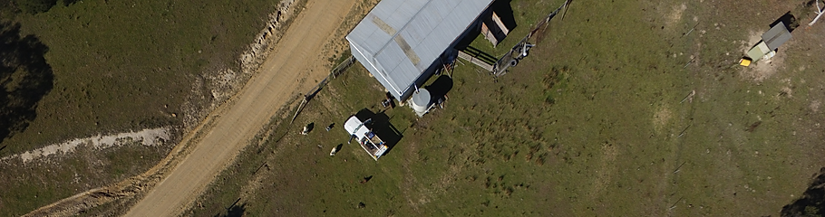 Aerial view of Kia Ora Stud, Bungendore New South Wales