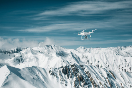 Da Drone in the Canadian Rockies