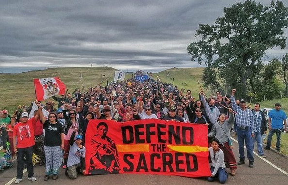 Defend The Sacred at Standing Rock