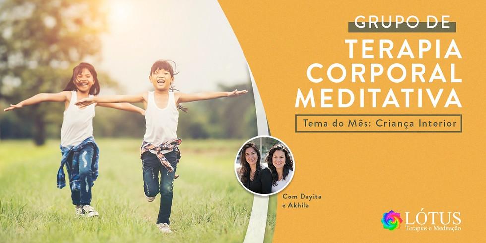 Grupo  de Terapia Corporal Meditativa - Tema: Criança Interior