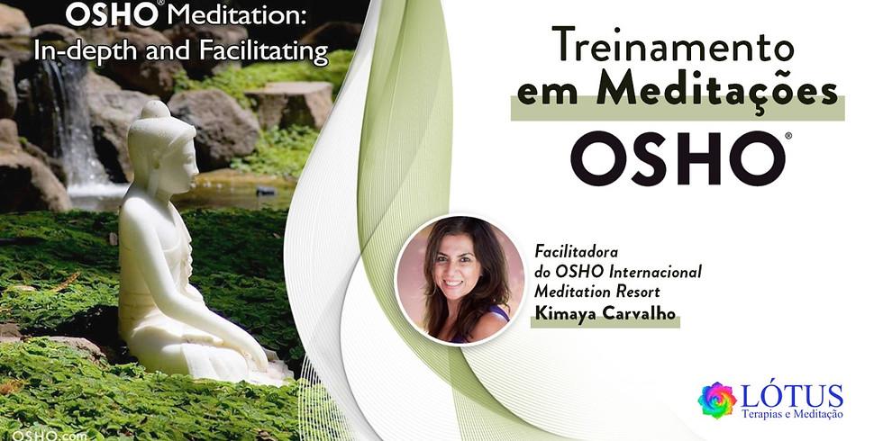 TREINAMENTO em Meditações OSHO