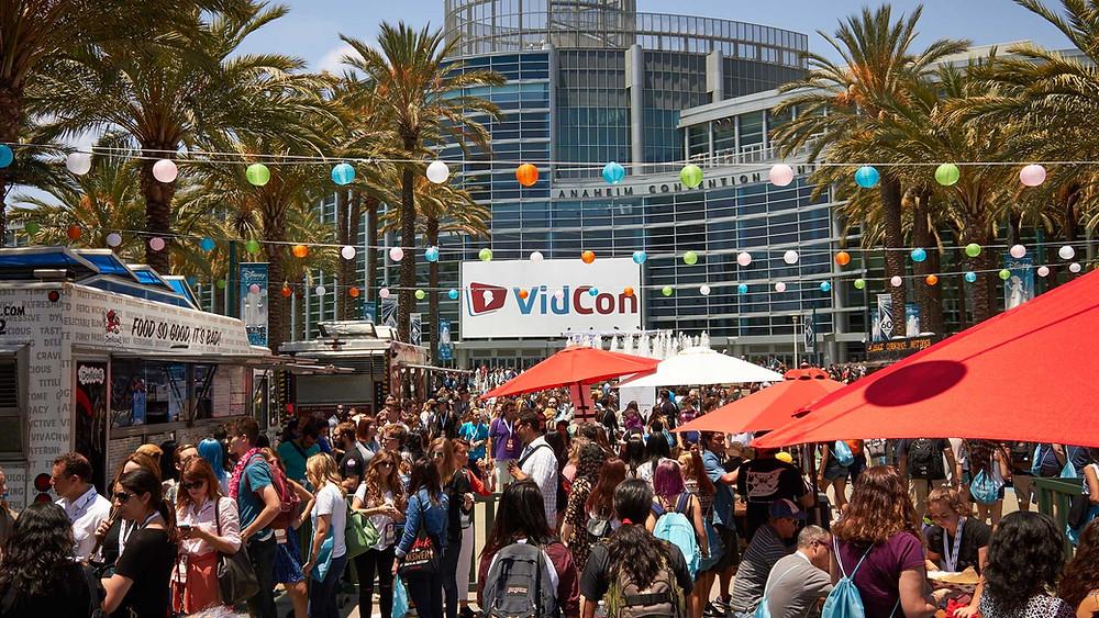 Vidcon US in Anaheim