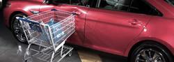 Shopping Cart or Parking Lot Damage