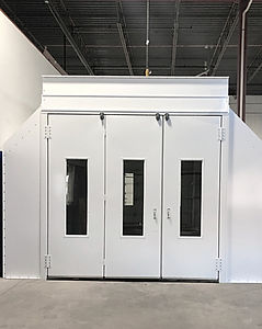 The Collision Experts Auto Body in Frankfort, IL Spray Booth