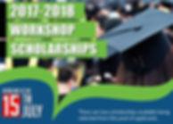 Workshop Scholarship Flyer